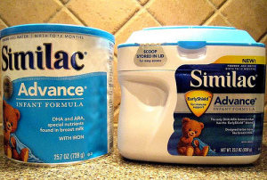 Nutritional products like Similac, along with health care diagnostic products, are what have powered growth at Abbott Labs, allowing the company to have increased dividends since 1973. Photo courtesy Consumerist Dot Com/flickr.com.