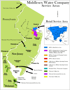 Middlesex Water Service Area